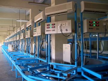 Cina Electronic Air Conditioner Production Line lantai - tipe AC Performance Testing System pemasok