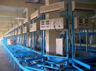 kualitas baik Automated Assembly Line & Electronic Air Conditioner Production Line lantai - tipe AC Performance Testing System Dijual