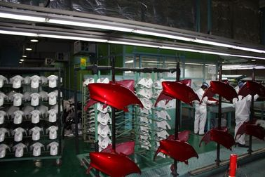 Cina Powder Coating Booths Motor produksi Majelis Line Liquid Painting System Distributor